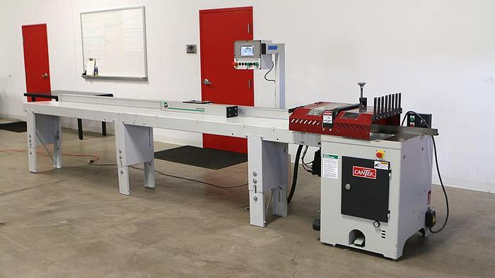 Used Cantek PCS 18L with Weinig EasyStop