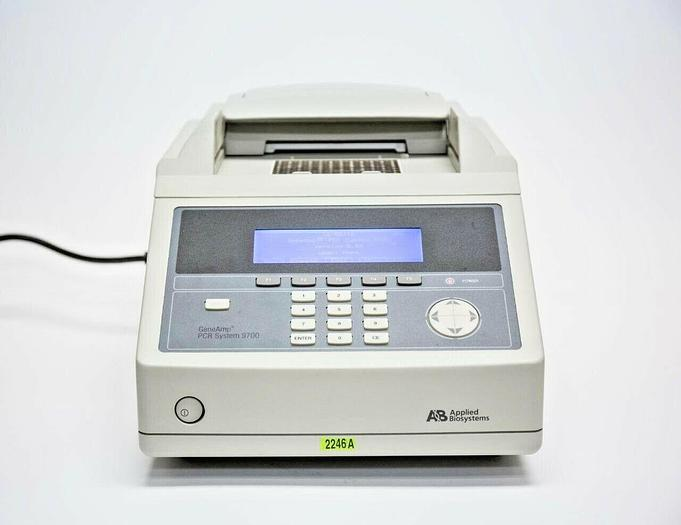 Used Applied Biosystems GeneAmp PCR System 9700 N8050200 Thermo Cycler USED (2246A)