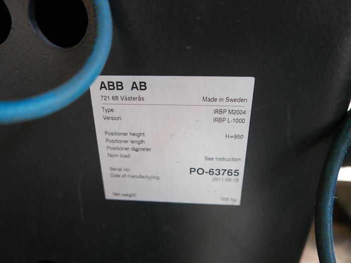 Werkstueckpositionierer ABB IRBP L 1000