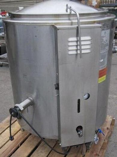 Used 80 GALLON GROEN GAS FIRED KETTLE - S/S  (#9991)
