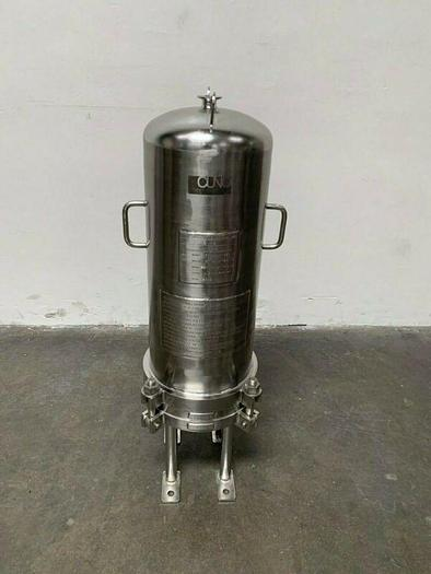 Used Cuno 7ZWB2 316L Stainless Steel Cartridge Filter Housing 150PSI @176°C