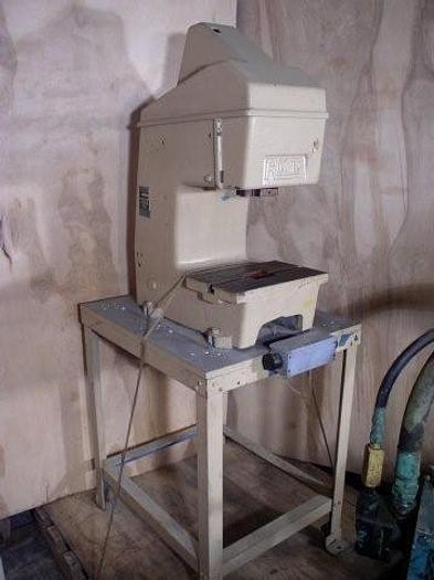 "Used 6 Ton R.M.T. Pneumatic Gap Frame Toggle Press; 0"" x 1.5"" Str.; 8"" x 12"" BA; Floor Stand"