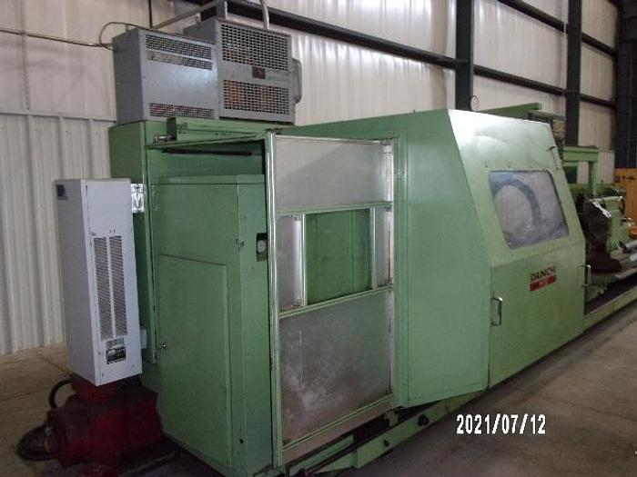 Used Dainichi M95/4000 CNC Flat bed Lathe