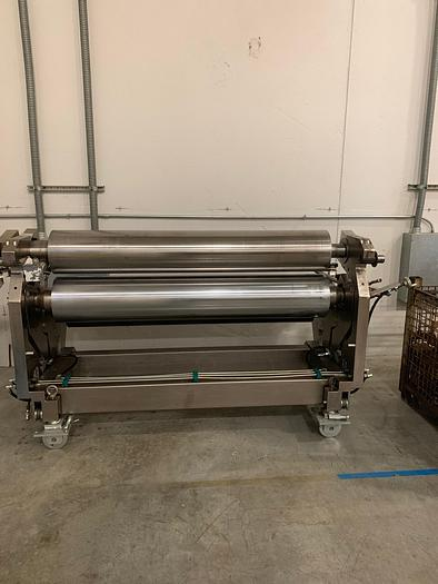 """Used 66"""" PAGENDARM POLY-TYPE (5) ROLL COATING STATION WITH 5 MOTOR DRIVE. NEW 2012"""
