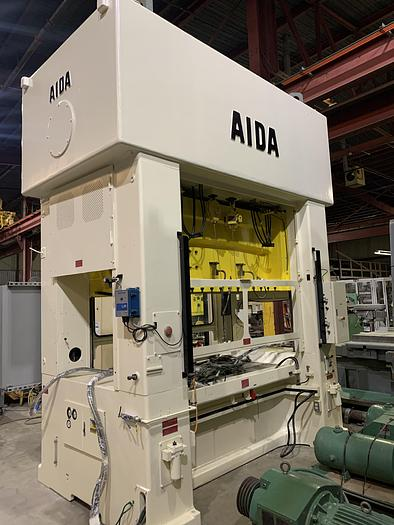 Used 330 Ton Aida Link Drive Production Press