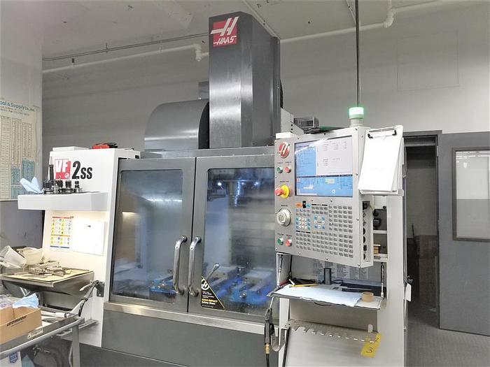 Used 2014 Haas VF2SS 32 Bit CNC Control