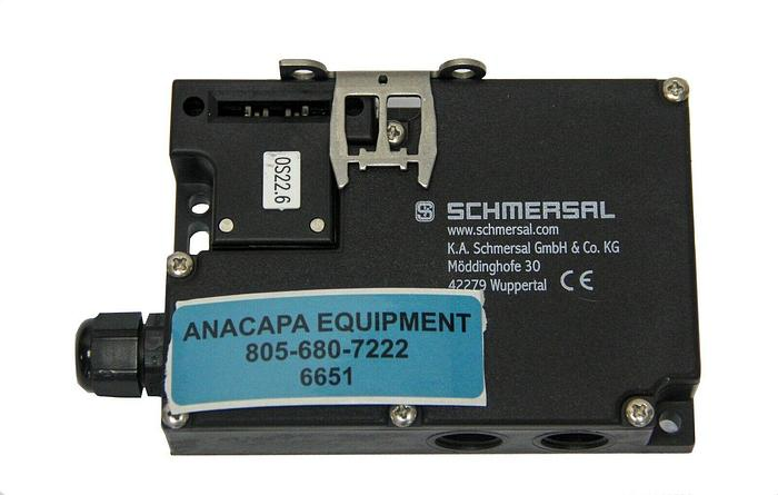 Used Schmersal AZM161CC-12/12RKA-024 Safety Interlock, Switch and Key (6651) W