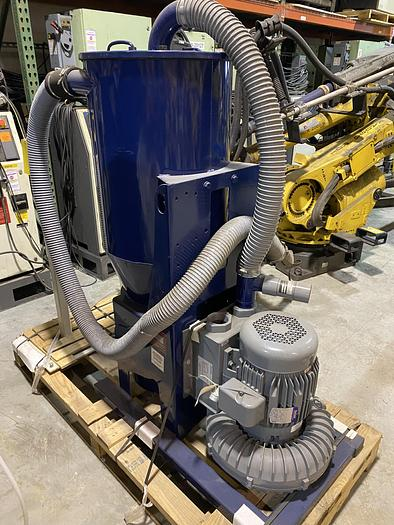 Used SPENCER FAST VAC SYS90134B 370CFM WITH 7.5HP PUMP