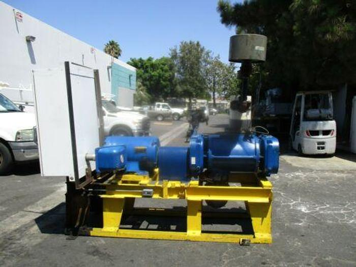 Complete 100 H.P. G / D 3600 CFM Helical Screw Blower Model 9CDL23K CYCLOBLOWER