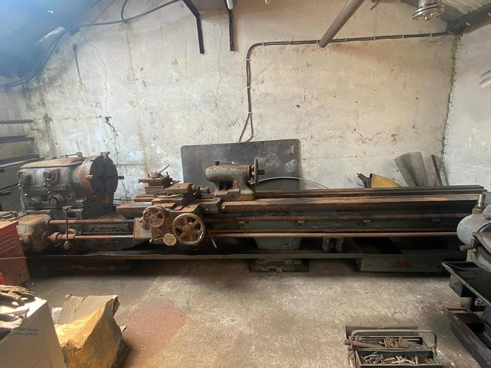 Used Oldfield & Schofield Gap Bed Center Lathe