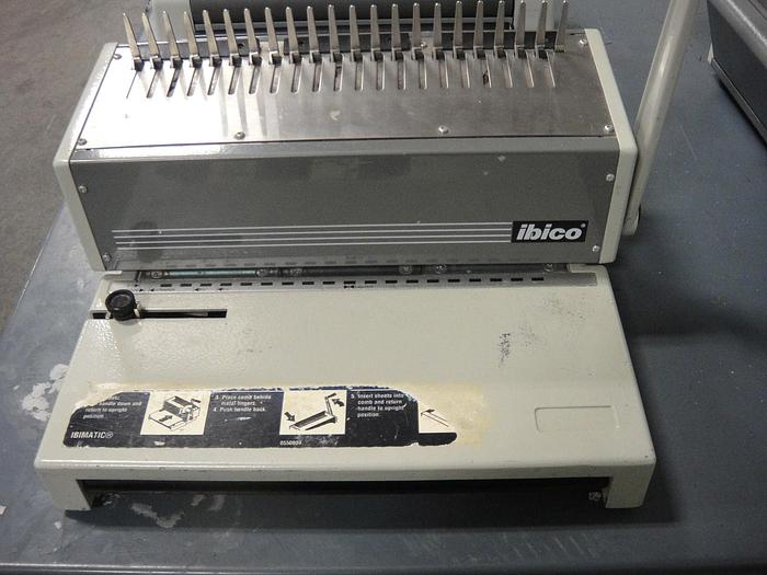 Used Ibico Ibimatic Binding Machine