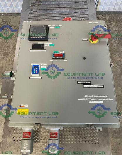 Used Fuji PHL11B12 PHL Paperless Record & Lenze SMVector ESV5 Inverter in Enclosure