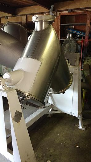 Used 5cuft Patterson Kelley Twin Shell Blender SS