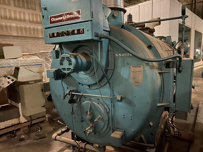Used Cleaver Brooks CB 700-125 30 PSI Hot water Boiler