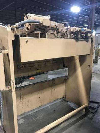 Standard press brake