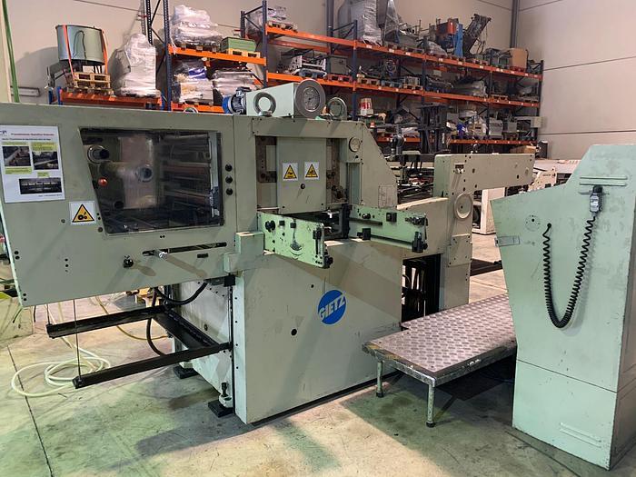 Used Die cutting machine with Hot Foil GIETZ FSA 720