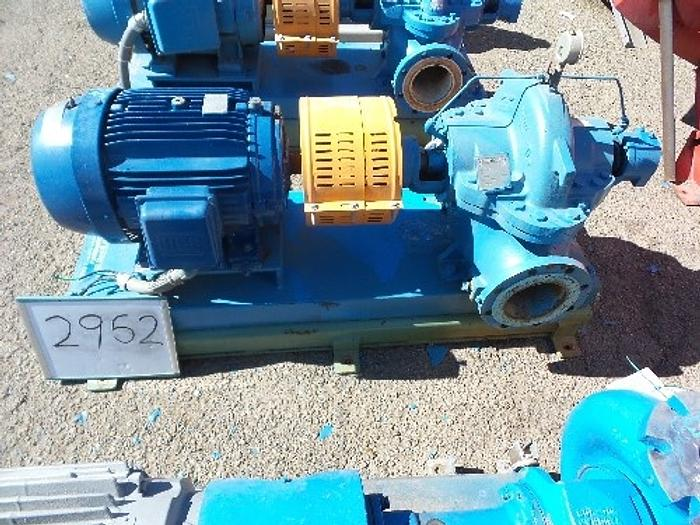 Used Goulds 6'' x 4'' Split Case Pump