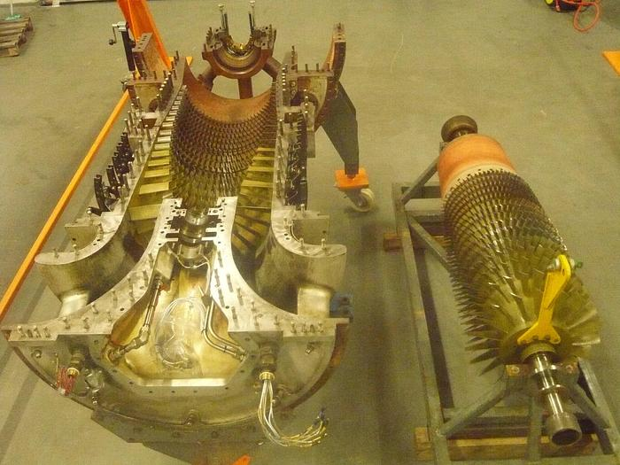 Used Core Engine, SGT 200 (Tornado) natural gas fired