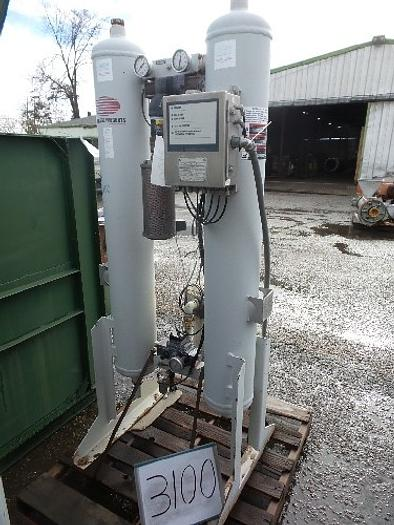Used Flair Desiccant Compressed Air Dryer