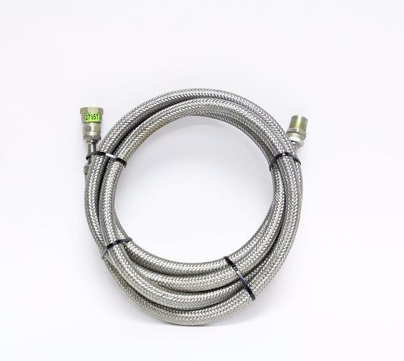 Used CTI Cryogenics SS CryoLine Helium w/5400-S5-8,10', Supply & Return Line (2765T)