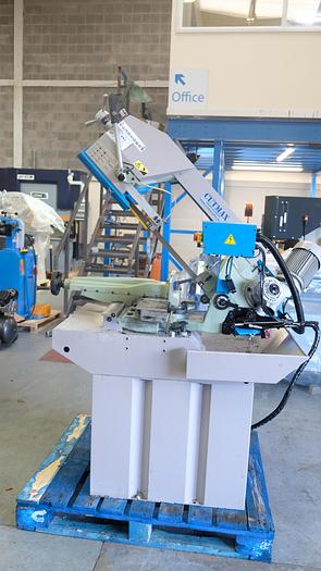 Used CUTMAX AUTOCUT 300 double Mitre Bandsaw