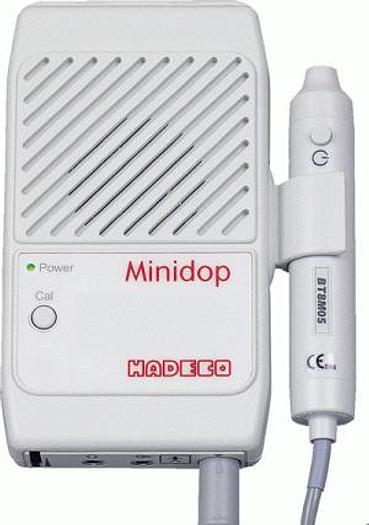 Used Taschendoppler HADECO Minidop ES-100VX