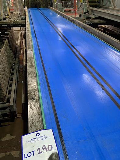 Used Steel Conveyor 5.5m L 0.85m W