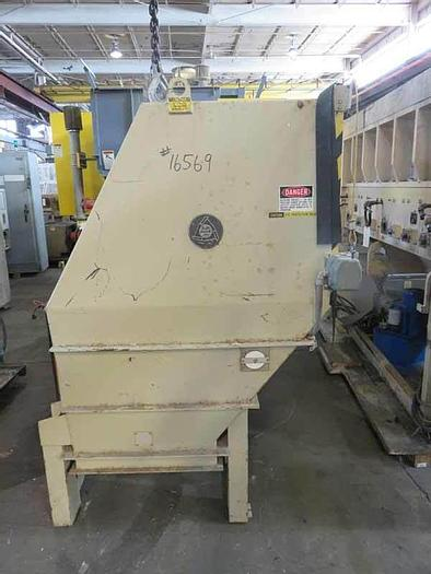 """Used 33"""" x 29"""" FEED OPENING BALL AND JEWEL DUAL SHAFT SHREDDER"""