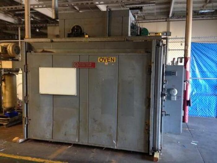 WISCONSIN 600 DEGREE MODEL SWT-9-05-06-G WALK IN OVEN 9' X 5' X 6' INTERIOR SIZE