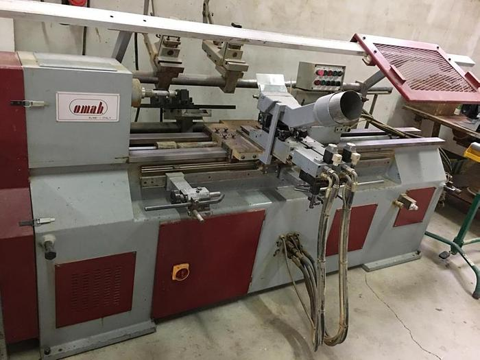 OMAB ECL120 Semi-automatic lathe with hydraulic copying device