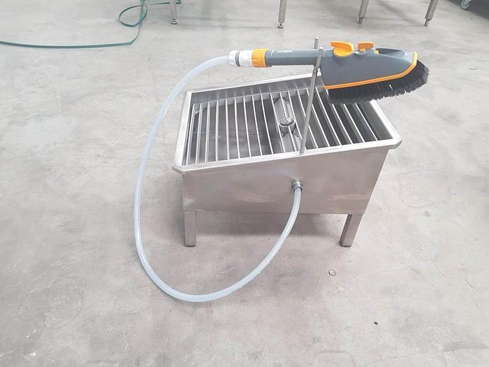 Bootwasher Stainless Steel