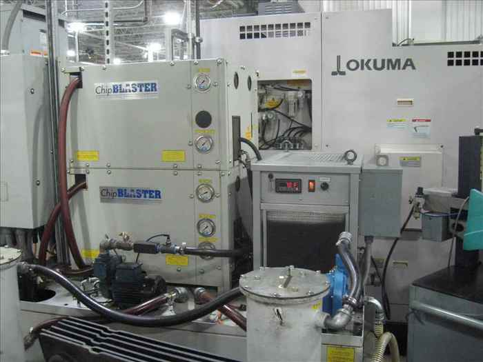 2011 Okuma LT2000 EX 8-AXIS CNC TWIN TURRET / TWIN SPINDLE LATHE W/ LIVE MILLING