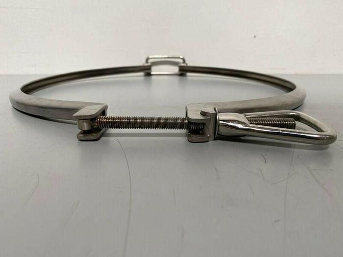 "Used CORA Heavy Duty Stainless Steel 14"" MF Clamp"
