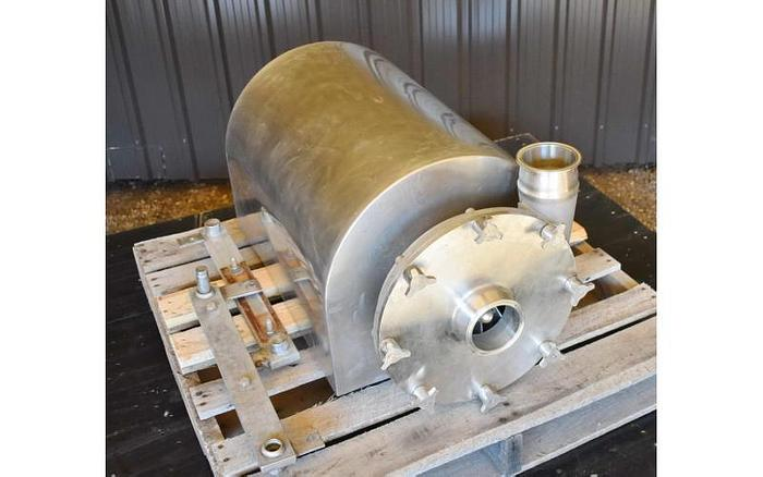 "USED CENTRIFUGAL PUMP, 4"" X 4"" INLET & OUTLET, STAINLESS STEEL, SANITARY"