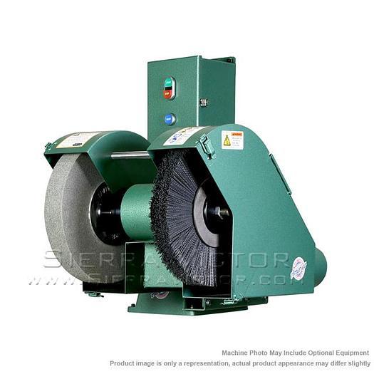 BURR KING Model 1200 Deburring & Polishing Machine