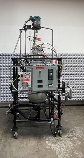 Used Prism Research Glass 100L Explosion Proof Glass Jacketed Reactor