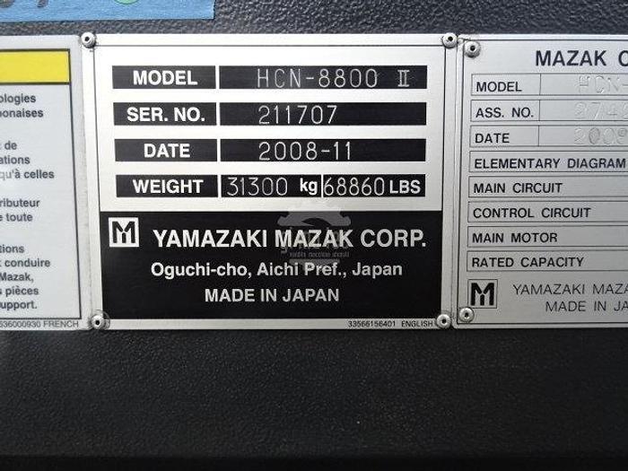CENTRO ORIZZONTALE MAZAK HCN NEXUS 8800