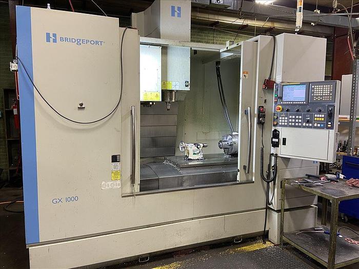 Used 2013 Hardinge  GX 1000 CNC VERTICAL MACHINING CENTER