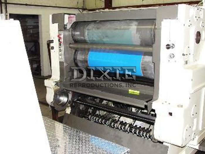 Dixie UV Conver Offset Press