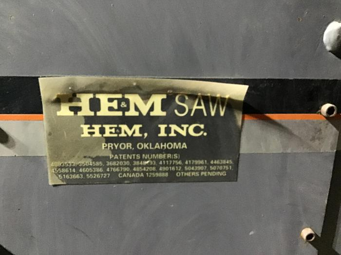 HEM Model PM 25/96 Plate Saw