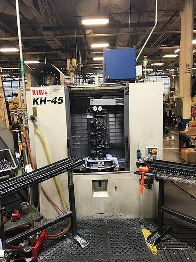 KIWA KH45 4 AXIS 400MM HORIZONTAL MACHINING CENTER