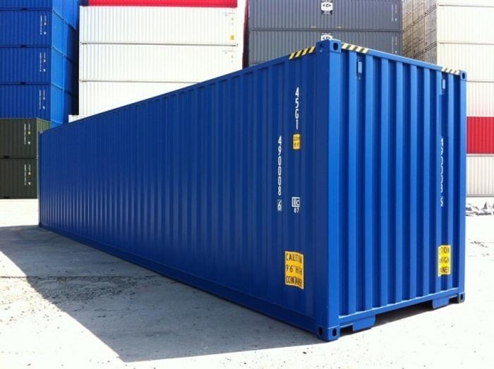 """40 'container 9'6 """"Wooden Floor"""