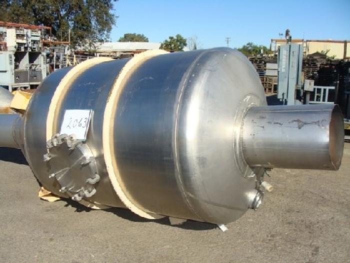 Used 750 Gallon Fran Rica Flash Cooler Tank