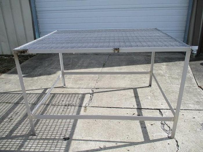 Used Work Platform; 4'x5', No Stairs