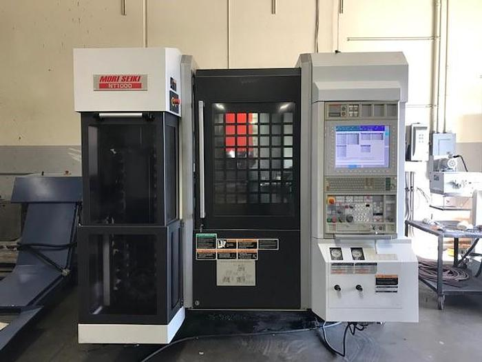 Used 2010 MORI SEIKI NT-1000SZ Multi-Axis Turning Center
