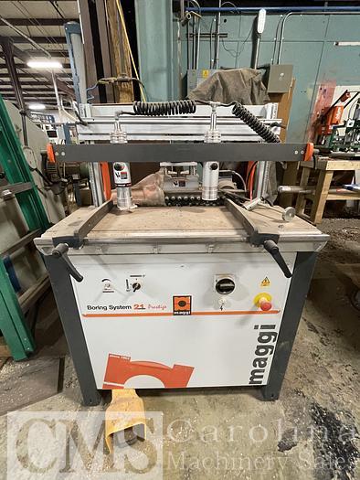 Used 2018 Maggi System 21 Prestige Boring Machine
