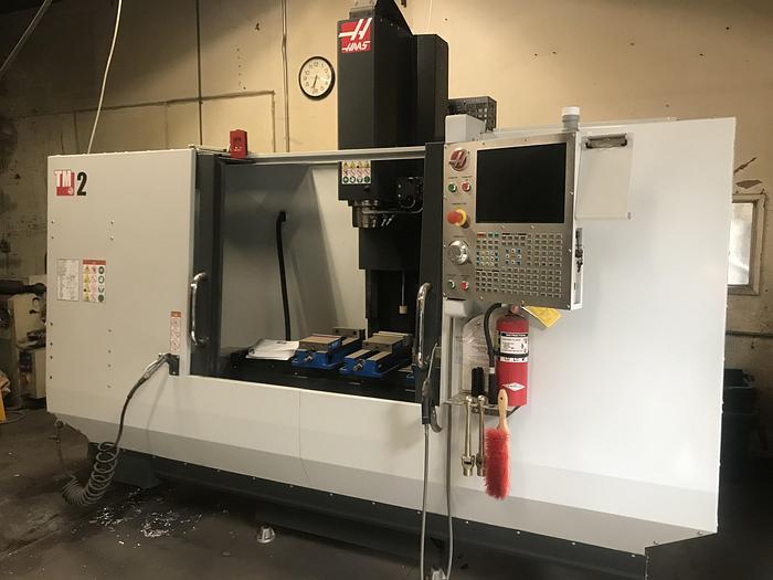 Used 2017 Haas TM-2 CNC 'Tool Room' Vertical Mill