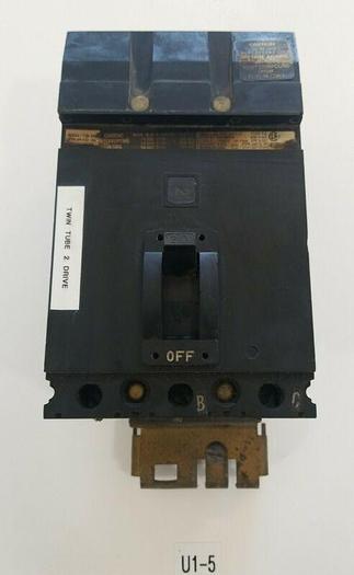 Used *PREOWNED* Square D FA-36020 Circuit Breaker 20AMP 3P 600V + WARRANTY!