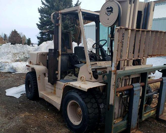 Used Hyster H155XLM Forklift