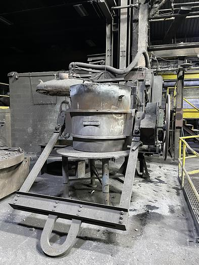 Used NORTH AMERICAN FG-3029 GAS FIRED LADLE